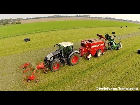 Fendt 936 Vario la strans de iarba
