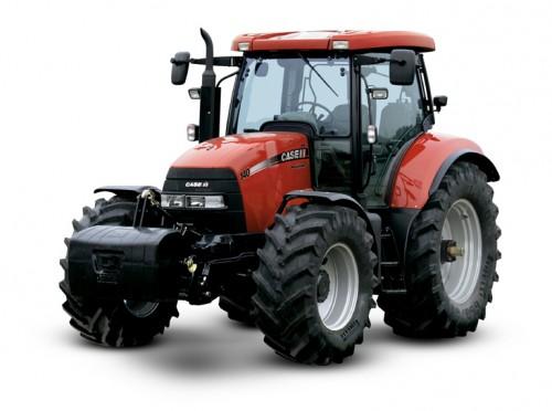 Tractor Case Maxxum 140 vedere din stanga fata