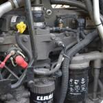 Tractor Claas Arion 640 Cebis detaliu motor