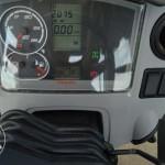 Tractor Claas Arion 640 Cebis interior panou de comanda
