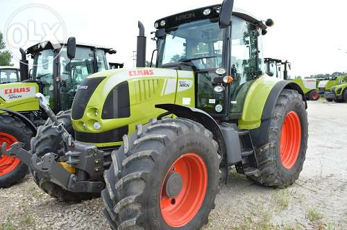 Tractor Claas Arion 640 Cebis vedere frontala stanga