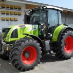 Tractor Claas Arion 640 Cebis vedere laterala stanga
