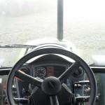 Tractor Claas Axos 320 interior cabina cu bord si volan