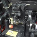 Tractor Kioti model RX6010 detaliu motor