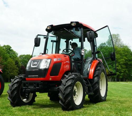 Tractor Kioti model RX6010 vedere din dreapta fata