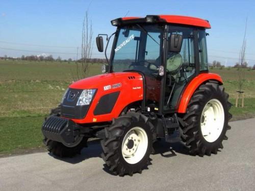 Tractor Kioti model RX6010 vedere din lateral dreapta