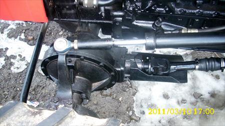 Tractor Universal UTB 550 detaliu sistem directie