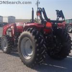 Tractorul Massey Ferguson 4608 cu incarcator DL250 spate