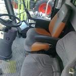 combina claas model lexion 570 interior cabina de comanda