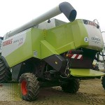 combina claas model lexion 570 vedere din stanga spate