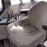 tractor Case IH Maxxum Pro 5140 interior cabina scaun sofer