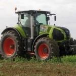 tractor claas axion 840 cmatic 240cp in actiune lucrari arat