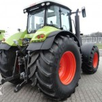 tractor claas axion 840 cmatic 240cp vedere laterala dreapta spate