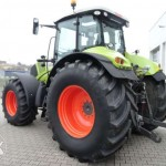 tractor claas axion 840 cmatic 240cp vedere laterala stanga spate