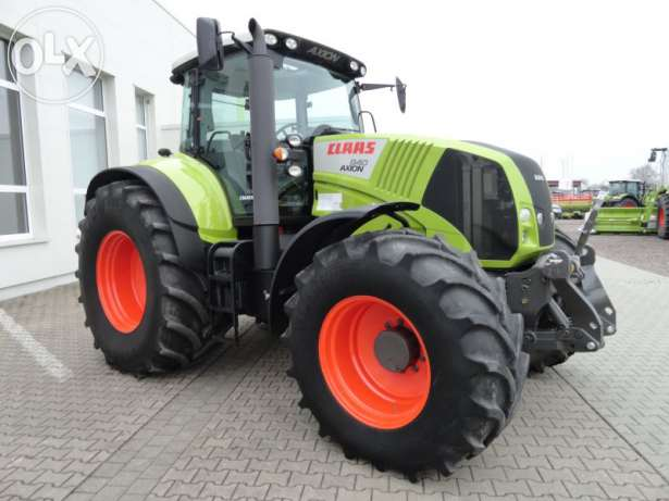 tractor claas axion 840 cmatic 240cp vedere laterala stanga