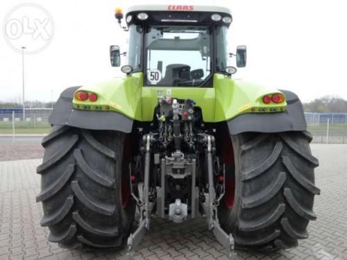 tractor claas axion 840 cmatic 240cp vedere spate cu sistem de remorchare