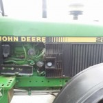 tractor john deere model 2850 detaliu motor