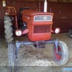 tractor u445 vedere frontala fara cabina