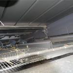 Combina Claas Lexion 630 detaliu interior sistem de treierat