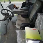 Combina Claas Lexion 630 interior cabina de comanda