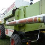 Combina Claas Model Mega 206 vedere lateral stanga