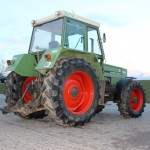 Tractor fendt favorit 610S vedere din dreapta spate