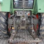Tractor fendt favorit 610S vedere din spate cu dispozitivul de cuplare