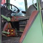 Tractor fendt favorit 610S vedere interior cabina de comanda