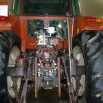 Tractorul Fiat Agri model F100 DT detaliu dispozitiv de remorchare